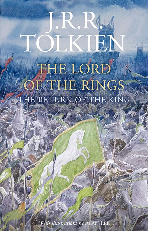 LotR - Gebundene Ausgabe - 2020 - Alen Lee - The Return of the King - Cover
