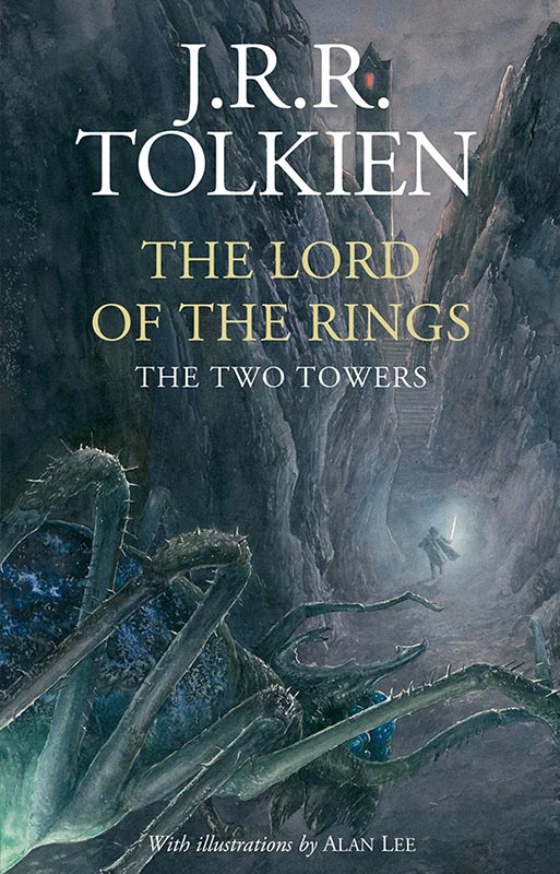 LotR - Gebundene Ausgabe - 2020 - Alen Lee - The Two Towers - Cover