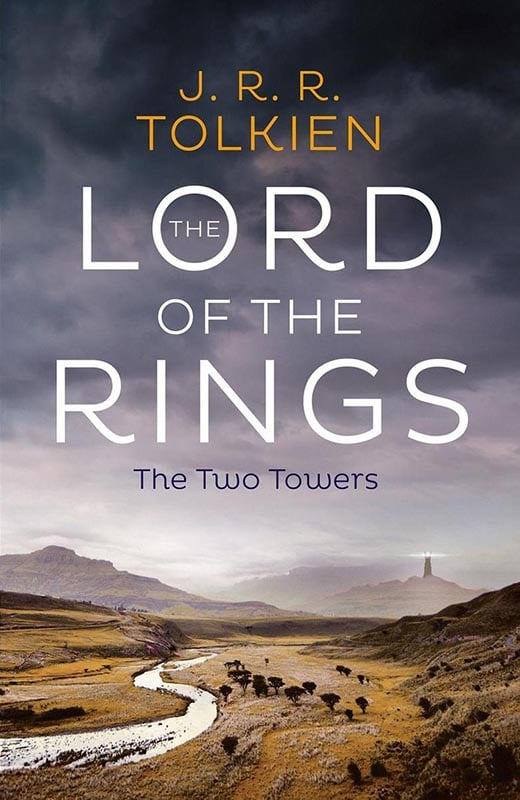 LotR - Taschenbuch - 2020- The Two Towers - Cover