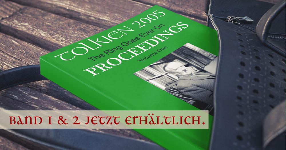 The Ring Goes Ever On - Konferenzbuch der Tolkien Society veröffentlicht.