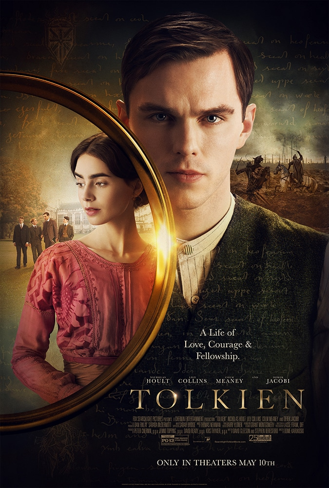 Tolkien Biopic official poster