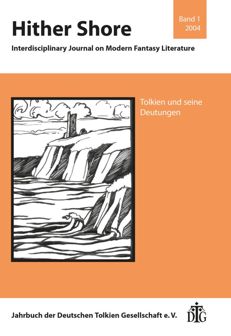 Cover Hither Shore 01 - Tolkien und seine Deutungen