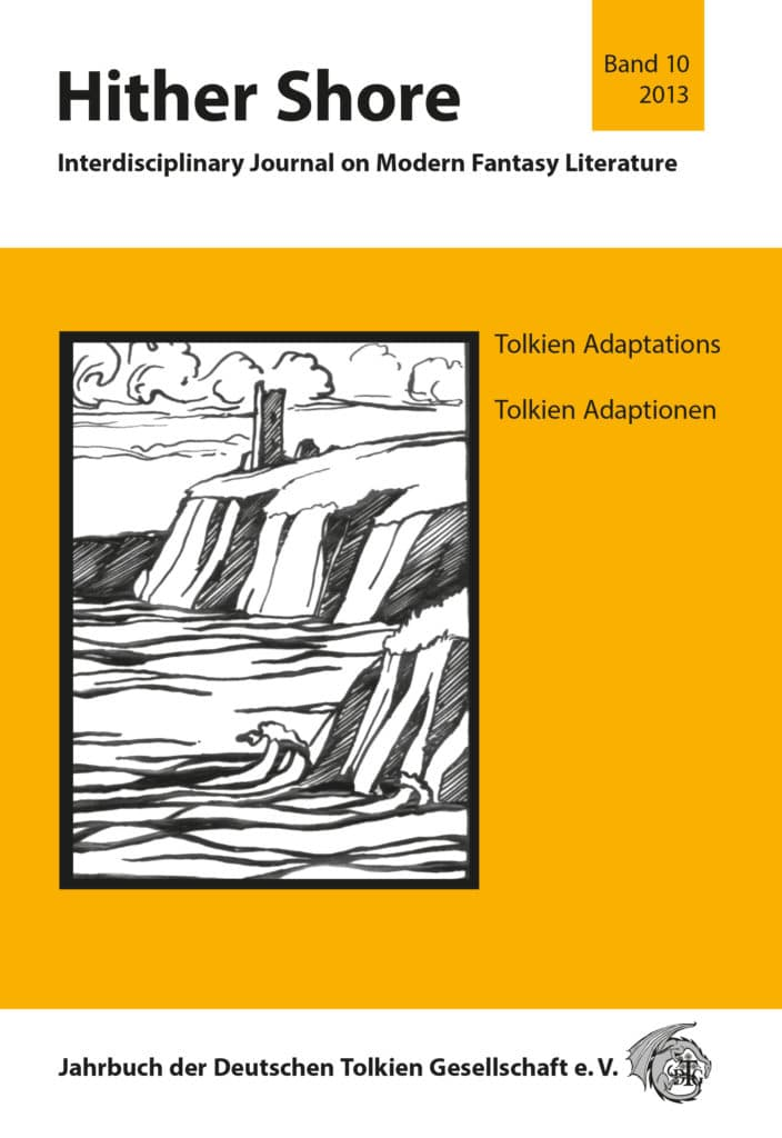 Cover Hither Shore 10 - Tolkien-Adaptionen