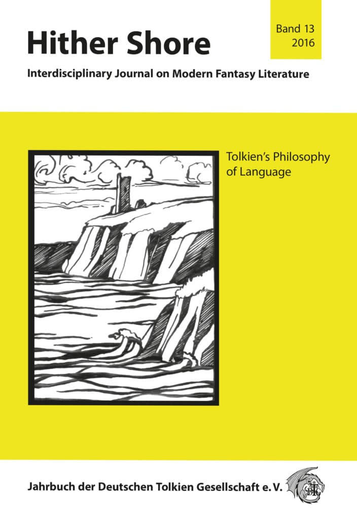 Cover Hither Shore 13 - Tolkien's Philosophy of Language