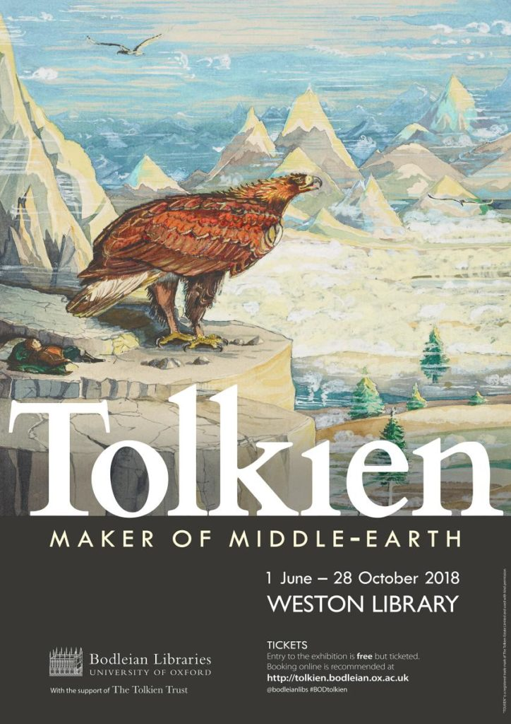 Tolkien - Maker of Middle-earth - eagle