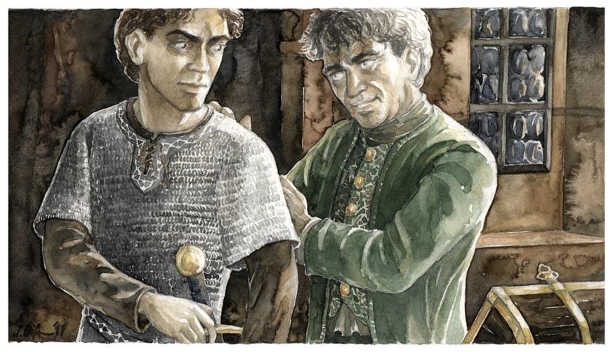 Frodo und Bilbo - Anke Eissmann