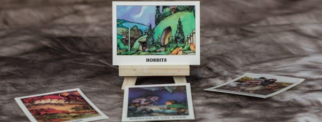 Hobbit als Katrten