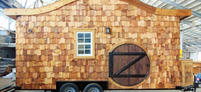 Hobbit-Haus auf Rädern