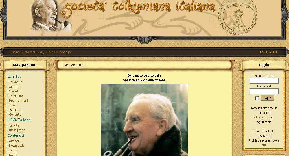 Italienische Tolkien Gesellschaft: Neue Webseite