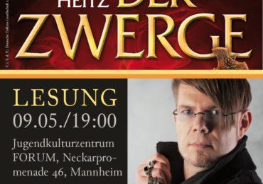 Die DTG präsentiert: Lesung mit Markus Heitz