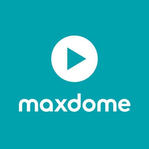 Logo Maxdome - quadratisch