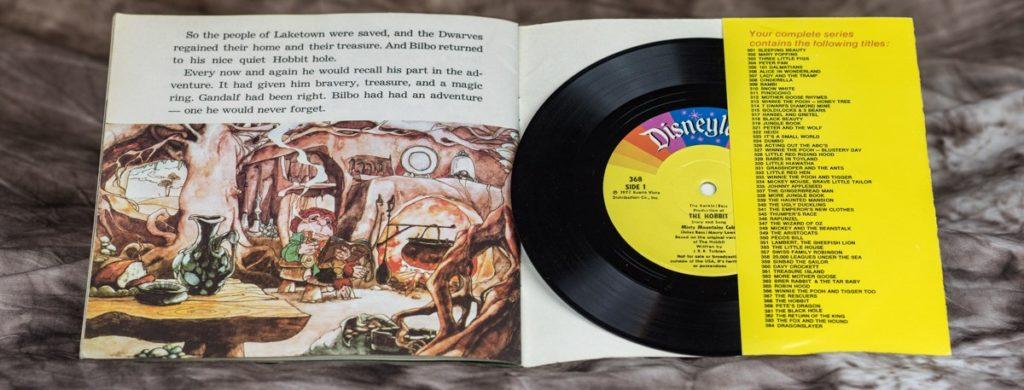 LP mit dem Soundtrack zum Hobbit