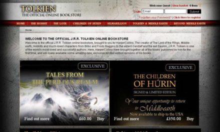 Offizieller Internetshop zu Tolkien auf neuestem Stand