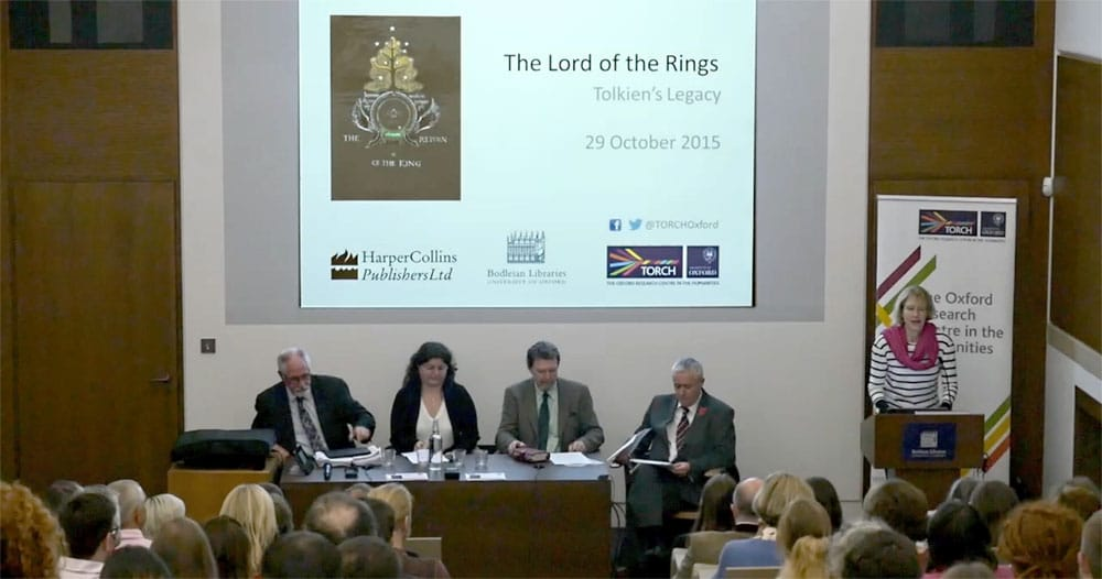 Podiumsdiskussion zu Tolkiens Vermächtnis