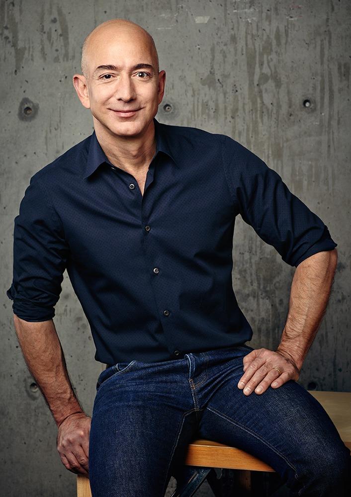Jeff Bezos; Photo Credit: Amazon