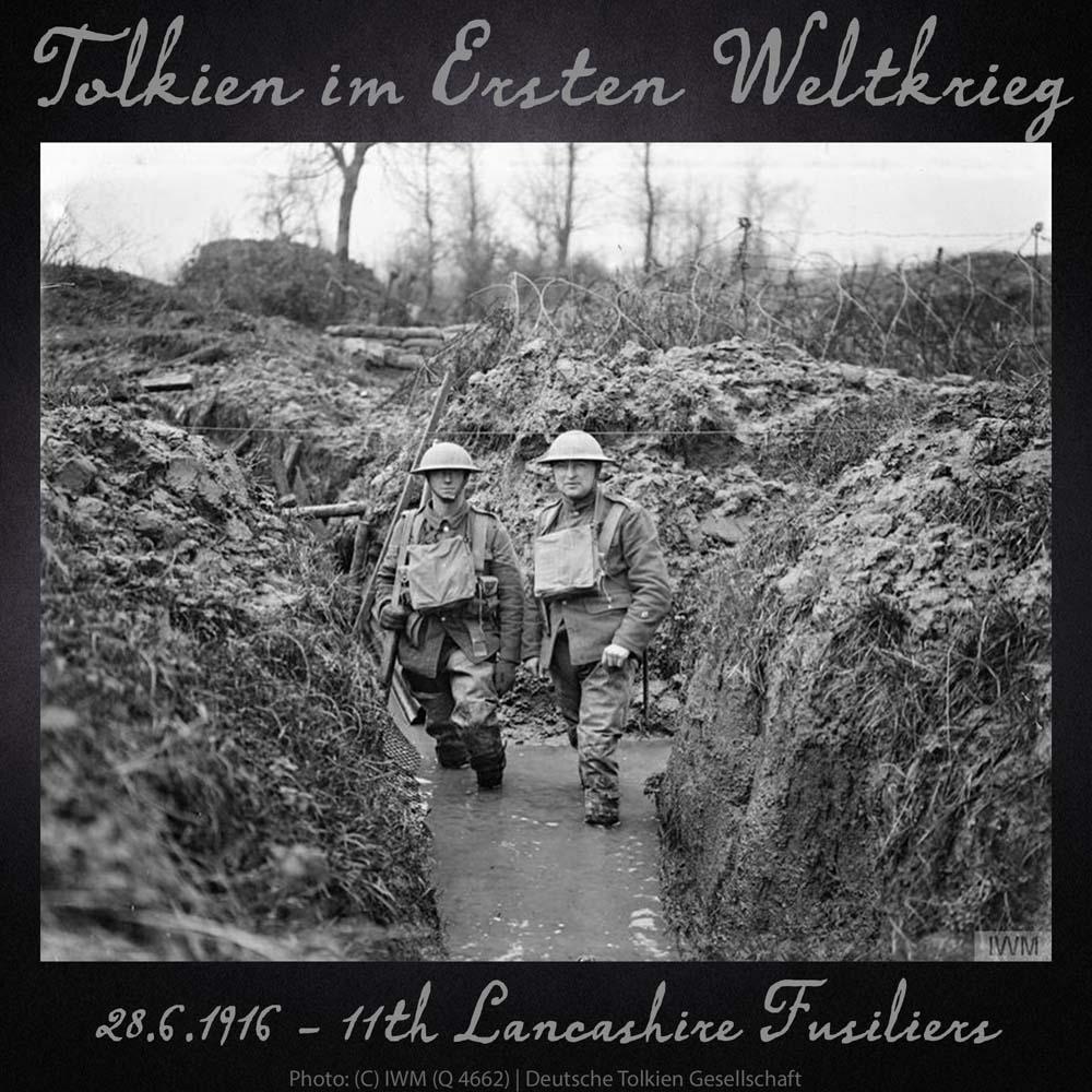 28.6.1916 11th Lancashire Fusiliers