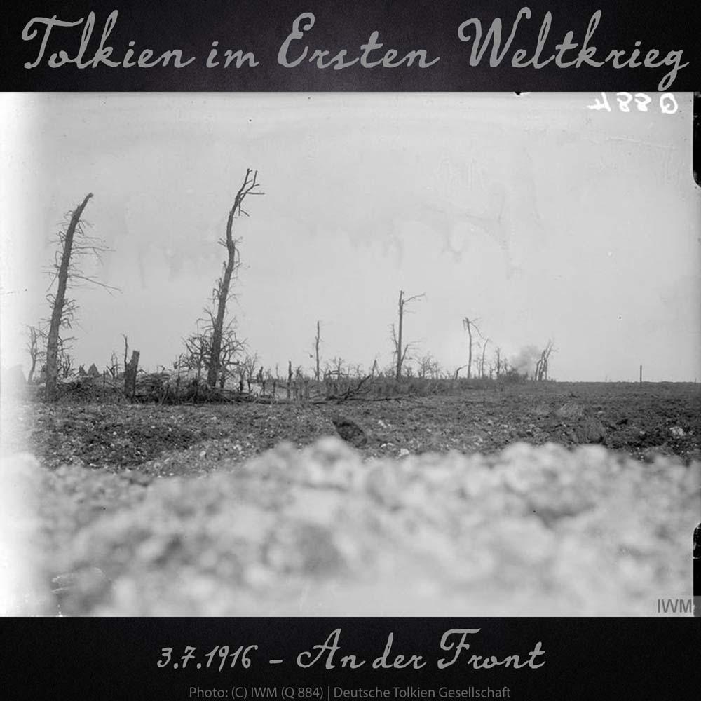 3.7.1916 - An der Front