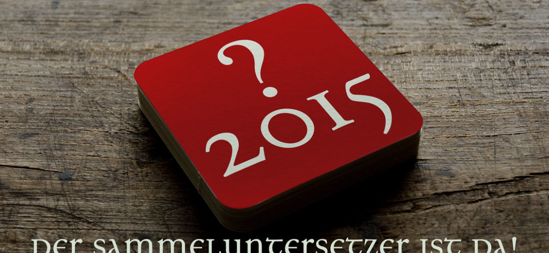 DTG-Sammeluntersetzer 2015: Das ist er!