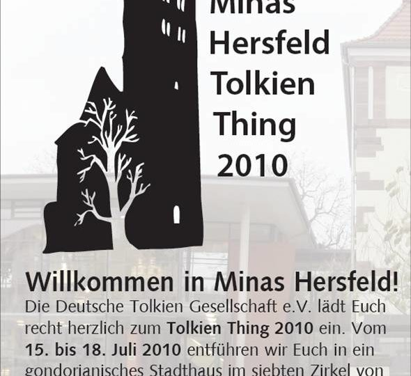 Flyer zum Tolkien Thing 2010