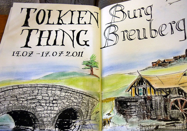 Tolkien Thing 2011 - A long-expected journey