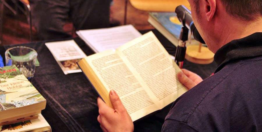 Heute ist Welttag des Buches.
